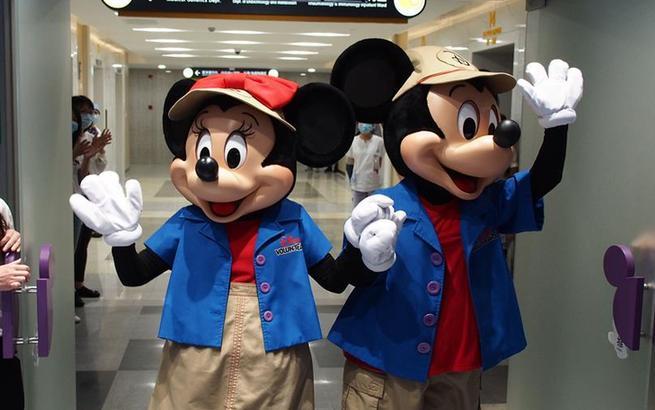 上海兒童醫學中心啟用全新迪士尼歡樂屋
