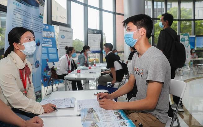 上海:夏日求職忙