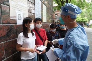 上海增加核酸檢測採樣點數量