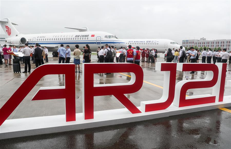 國産新支線客機ARJ21進入我國主流航空市場