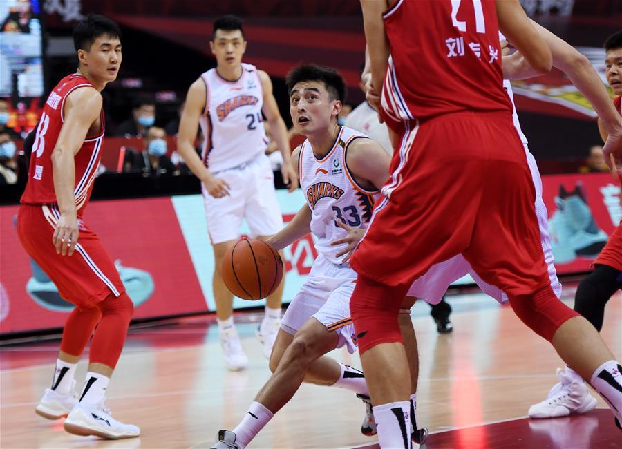 CBA復賽第一階段:上海久事勝青島國信雙星