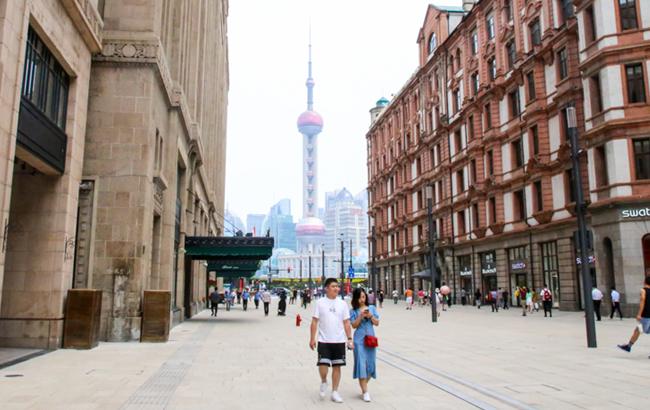 """""""中华商业第一街""""南京路步行街东拓""""抢鲜""""看"""