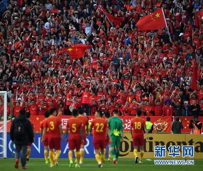 (體育)(7)足球——世預賽:中國不敵伊朗