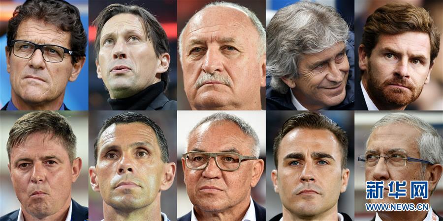 (體育·專題)(1)足球——星光熠熠的中超教練席