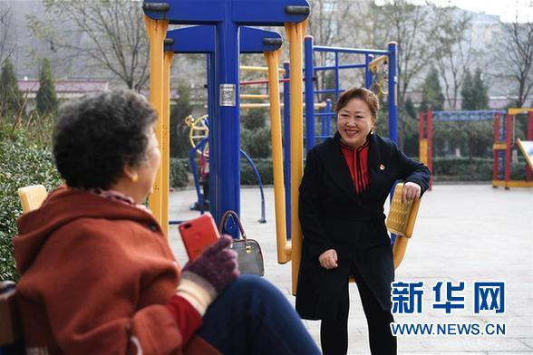 """任红梅:阳泉段南沟社区居民的"""""""