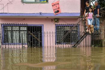 哥倫比亞:洪水泛濫