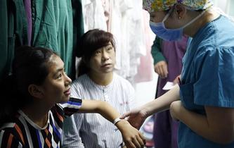 西藏8名先天性疾病患兒在北京接受治療