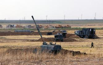 土耳其在緊鄰伊拉克邊境舉行軍演