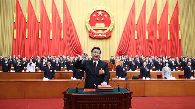 習近平當選國家主席、中央軍委主席