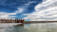 走進察爾汗鹽湖