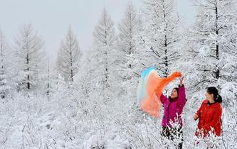 雪落呼倫貝爾