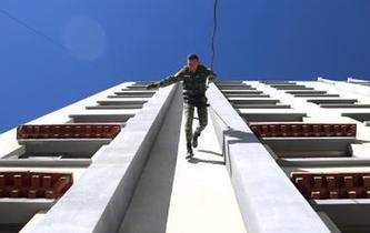 武警西藏總隊野外駐訓礪精兵