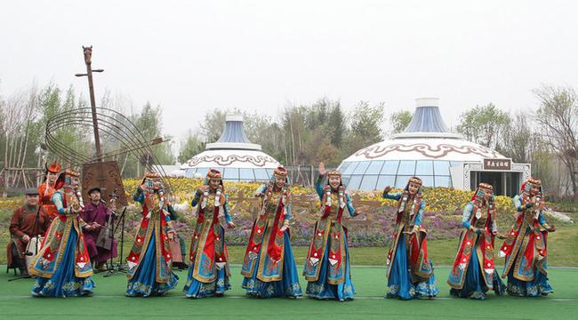 北京世園會上的內蒙古元素