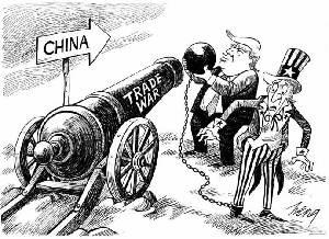 """新華網評:美國是""""賭"""",中國是""""篤"""""""