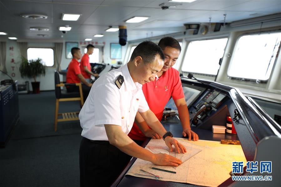 遠望3號遠洋航天測量船加速駛向測控任務海域