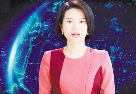 新華社AI合成主播亮相世界通訊社大會