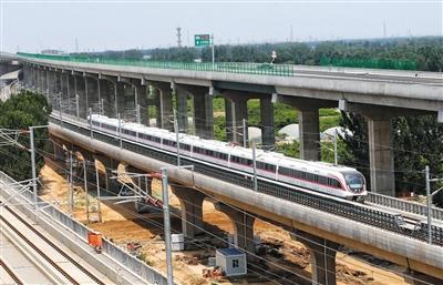 運行全程僅19分鐘 北京新機場線一期細節全掃描