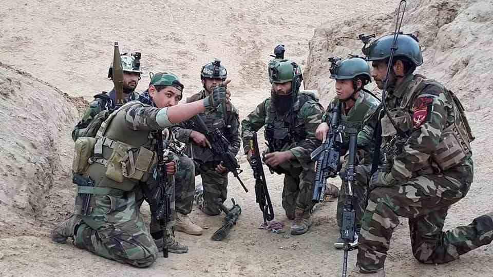 阿富汗安全部隊打死22名塔利班武裝分子