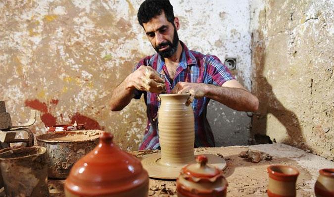 流離失所的敘利亞陶器手藝人