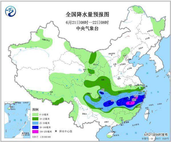 南方暴雨還將持續一周 華北黃淮高溫依舊