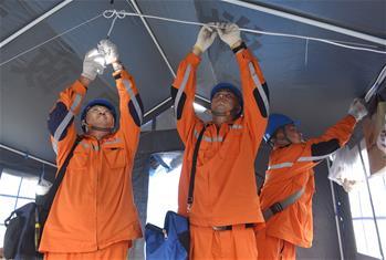 長寧地震已轉移安置8萬余人 盡全力讓群眾少住帳篷