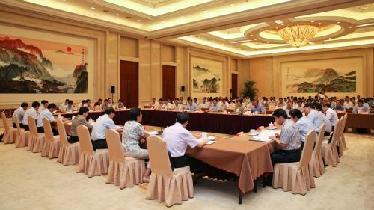 吉林省與兩岸企業家代表團座談會召開