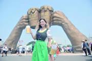 青島國際啤酒節閉幕 金沙灘啤酒城將常態化運營