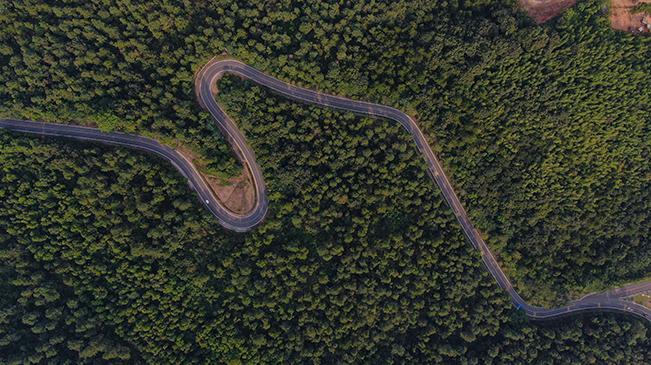航拍美麗鄉村路——綠野仙蹤之旅