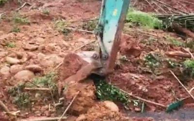 國社@四川|雅康高速發生塌方導致道路中斷