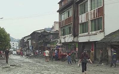 國社@四川|強降雨已造成四川阿壩州10人死亡 27人失聯