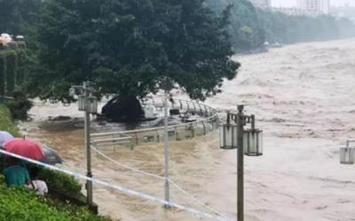 暴雨襲擊四川雅安致1人死亡2萬多人轉移