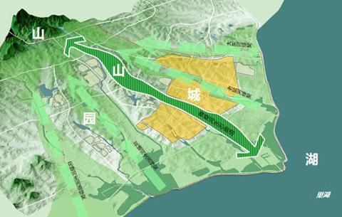 巢湖半島生態科創城核心啟動區規劃通過審議