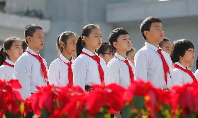 全國各地舉行烈士紀念日活動