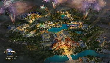 環球度假區公布七大主題景區 預計2021年開園