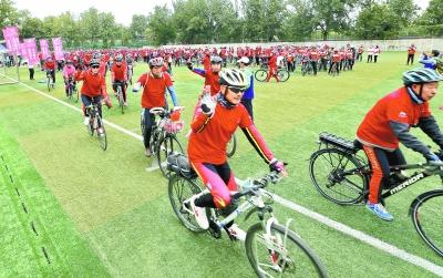 健康騎行活動月啟動