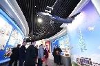甘肅省經濟社會發展展覽館展示隴原70年巨變