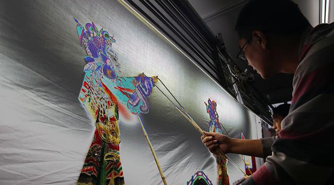 皮影藝術進校園 傳統經典潤童心