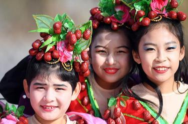 新疆且末縣第十屆紅棗豐收節開幕