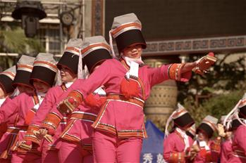廣西瑤族同胞歡慶盤王節