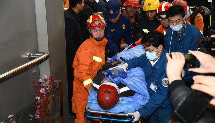 山東能源肥礦集團梁寶寺煤礦事故被困人員全部獲救升井