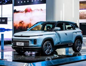 BMA模塊化架構極致力作 吉利icon廣州車展全球首秀