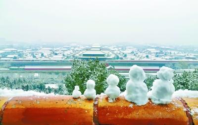 30萬遊客市屬公園賞雪 同比上周末增長50%