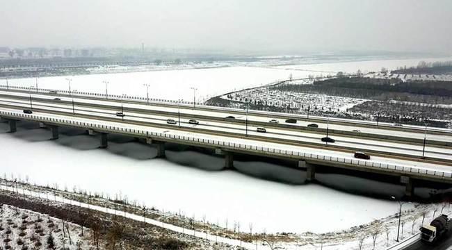 【航拍】白雪蒼茫大黑河