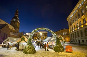 裏加的聖誕市場