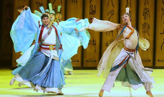 中國歌劇舞劇院交響合唱版舞劇《孔子》亮相俄羅斯