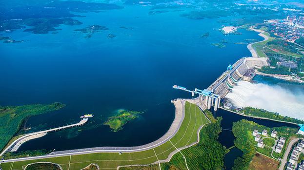 通水五周年 鳥瞰南水北調中線丹江口核心水源區