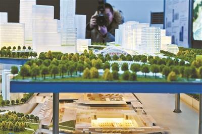 副中心城市綠心今年9月底開園