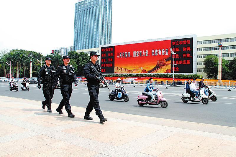 南寧警方開展冬春社會治安嚴打整治專項行動