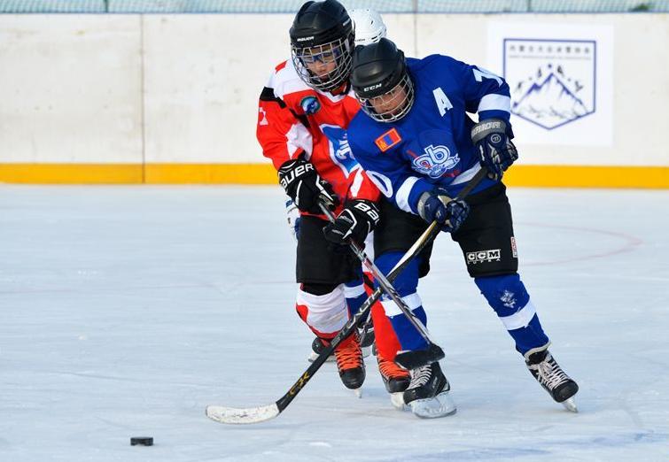 隆冬賽激情 冰球傳友誼