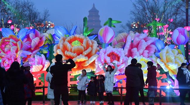 西安:春節臨近年味濃